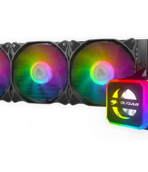 WATER Cpu Liquid Cooler AIO Cougar Helor 360 RGB