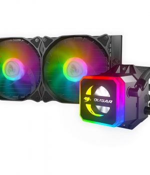 Water Cpu Liquid Cooler AIO Cougar Helor 240 RGB