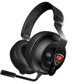 Auriculares Gamer Cougar Phontum Essential Black C/Mic