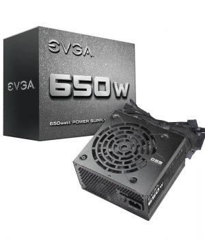 FUENTE EVGA 650W N1 52A PCI-E 2 SATA 6
