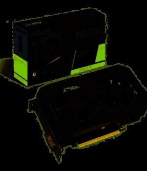PLACA DE VIDEO ASUS GTX 1660 SUPER TUF GAMING OC 6GB