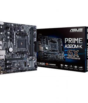 MOTHERBOARD ASUS PRIME A320M-K AM4 AMD RYZEN 2ND GEN DDR4